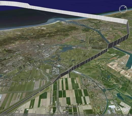 Landing on Schiphol Airport