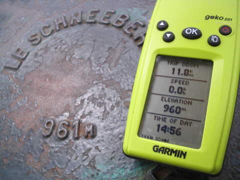 Measuring altitude on my Gps