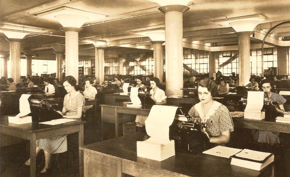 Een typekamer