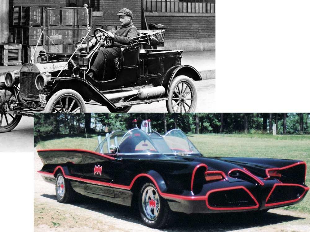 T-Ford naar Batman!