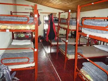 Emergency bunks at the Dreizinnen