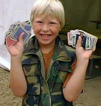 Altijd een leuk spel met speelkaarten